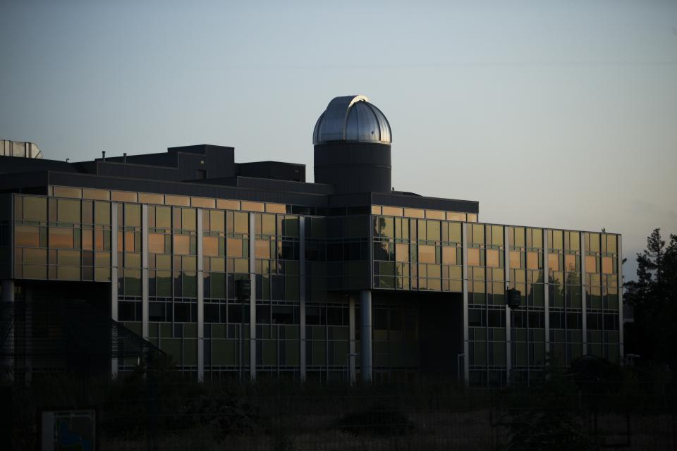 building on campus