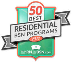Top RN to BSN Logo